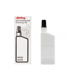 Rotring Isograph White Ink 23ml