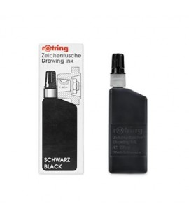 Rotring Isograph Black Ink 23ml