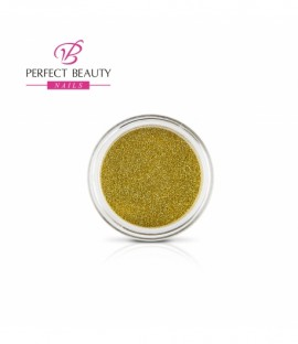 Glittery dust yellow gold