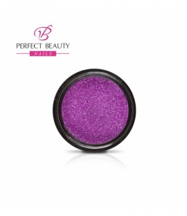 Glittery dust holographic violet