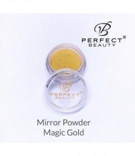 Mirror Powder Glass Effect Gold 02